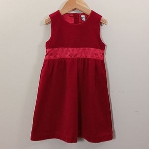 Baby Gap Velvet Jumper Dress